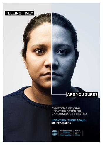 Día Mundial de la Hepatitis 2014. Piénselo de nuevo