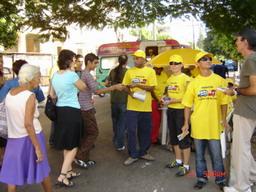 5 de diciembre. Día Internacional del Voluntariado. Imagen: CNP ITS/VIH/sida