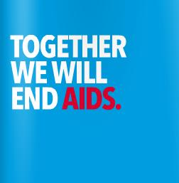 Together we will end AIDS 2012