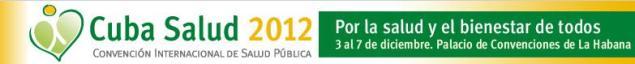 Convensión Internacional de Salud ¨Cuba Salud¨ 2012