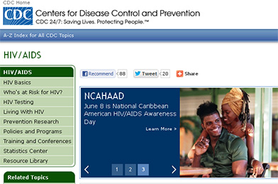 Centros para el Control y la Prevención de Enfermedades. VIH/sida