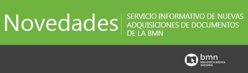 Novedades. Biblioteca Médica Nacional