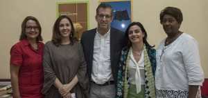 Rosaida Ochoa y embajadores de buena voluntad